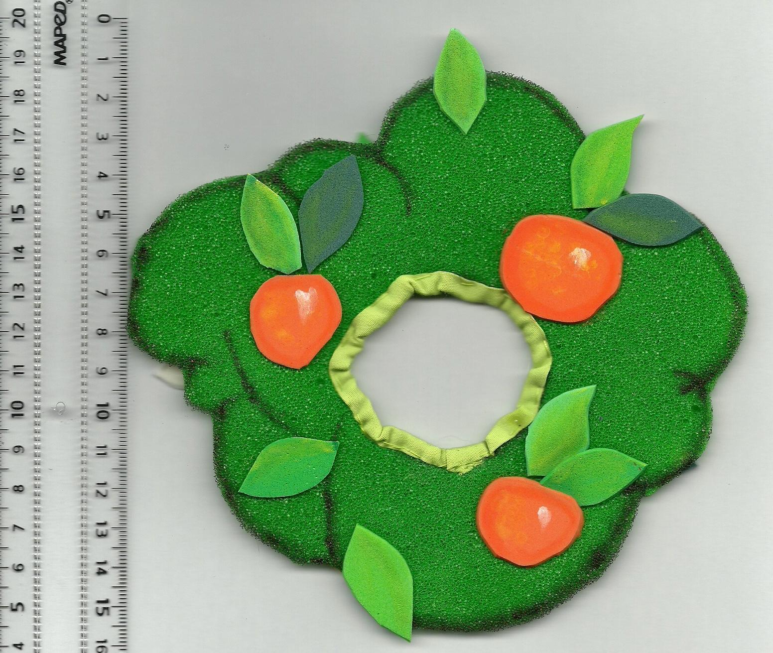 disfraz de arbol