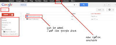 What is Google Drive ScreenShot