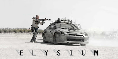 Elysium Movie Poster Images Wallpapers Trailer and Reviews