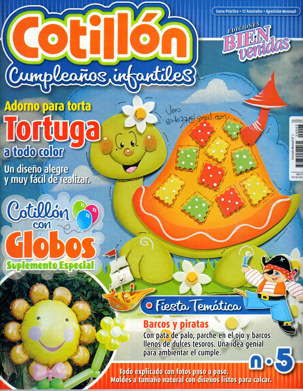 Cumplea os infantiles cotill n revistas de for Revistas de decoracion gratis