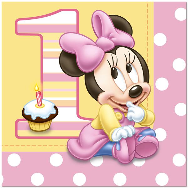 minnie mouse para primer cumpleaños disney primer cumpleaños para