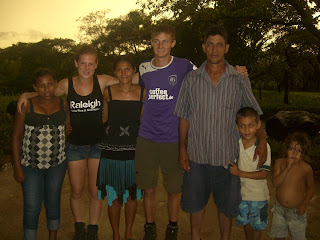 Hester, Jonas and their Nicaraguan family