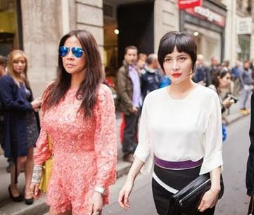 Day 2 Josie Ho and Yvette Yung Paris Fashion Week