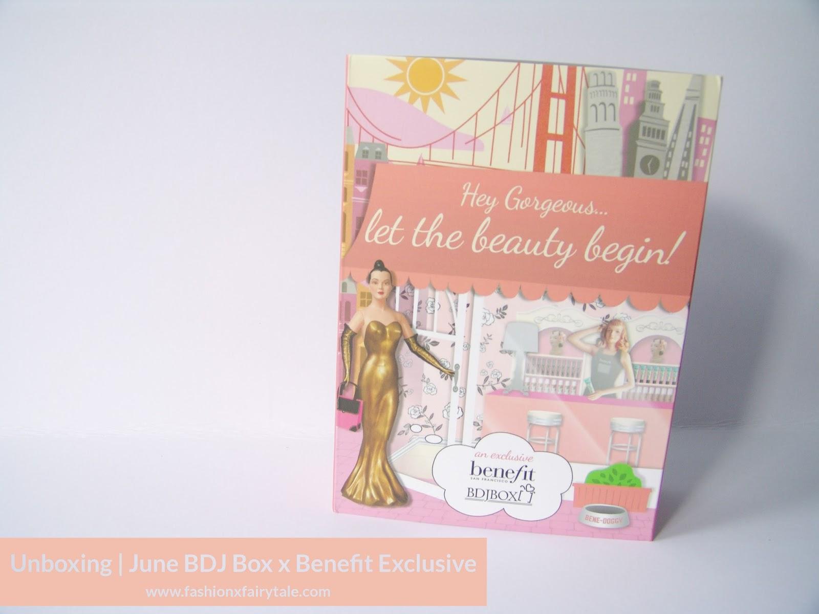Unboxing | June BDJ Box x Benefit Exclusive