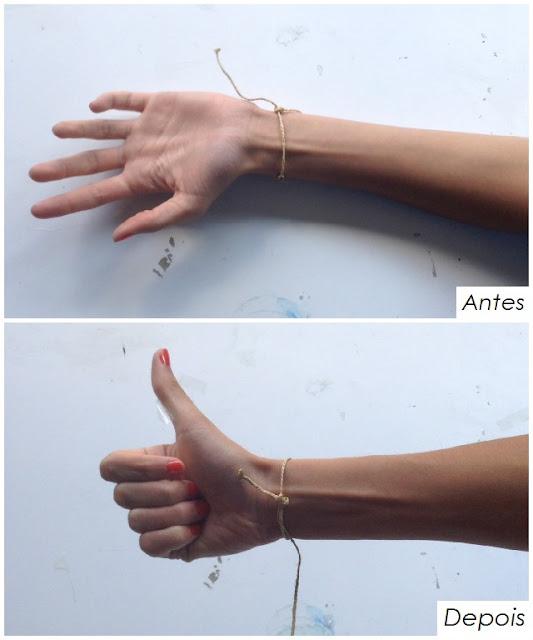 Como fazer nó ajustável em pulseiras