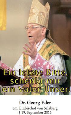 Erzbischof em. Dr. Georg Eder