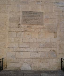 Puerta tapiada iglesia Saint-Jean-Baptiste Saint-Jean-de-Luz País Vasco francés