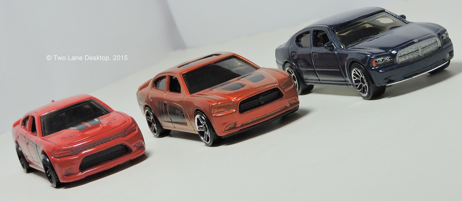 MOPAR Mania, Part 3: Hot Wheels 2015 Dodge Charger SRT Hellcat, Alongside  Hot Wheels 2011 Charger R/T And Matchbox 2006 And 2011 Charger R/T Police