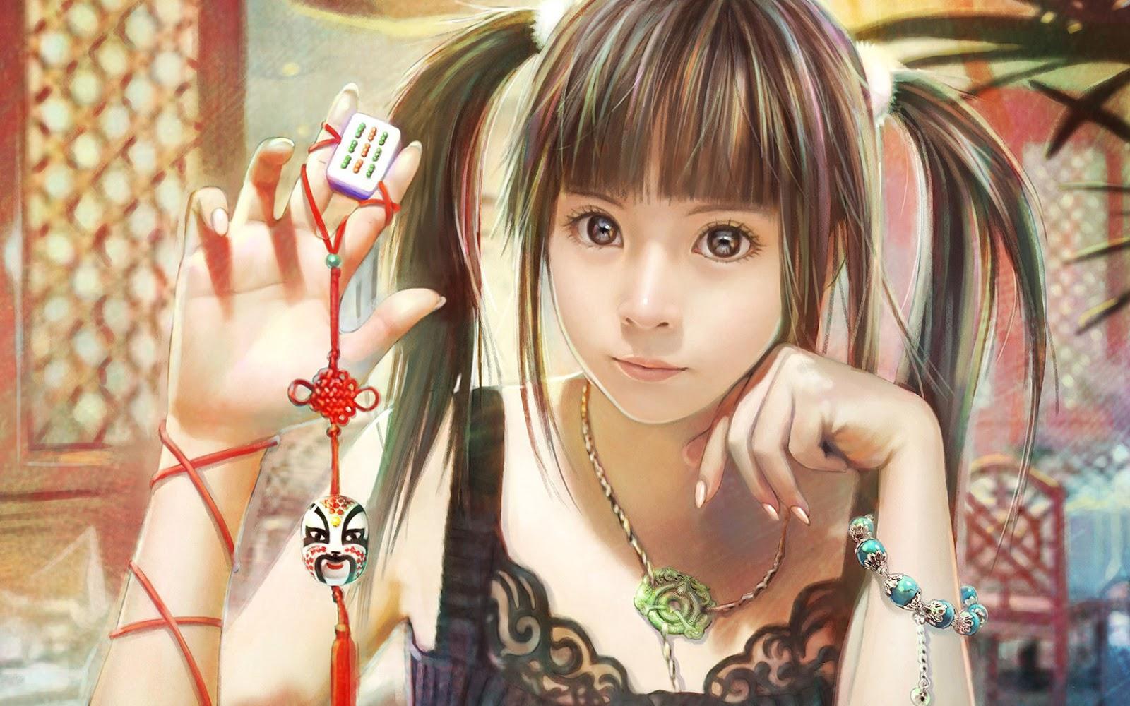 20 beautiful fantasy cg girls hd wallpapers npicx we share - Cg background hd ...