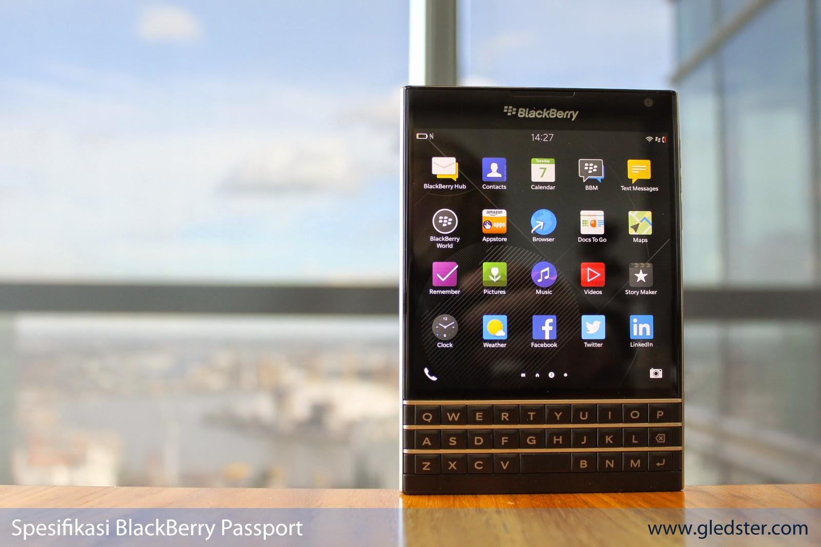 Spesifikasi BlackBerry Passport