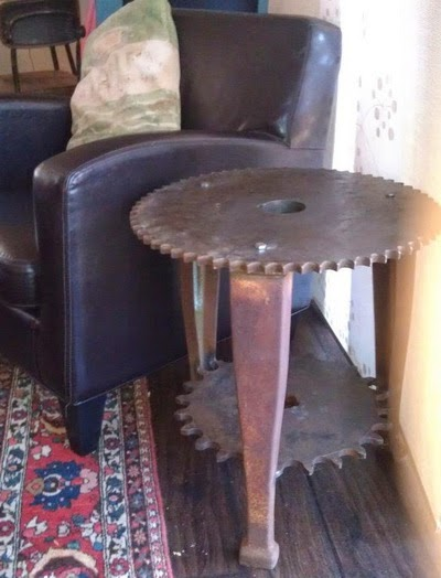 36 Recycled Scrap Metal Into Furniture Project Ideas Do