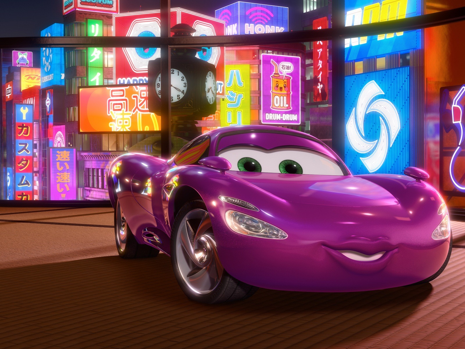 cars 2 3d hd wallpapers cartoon wallpapers