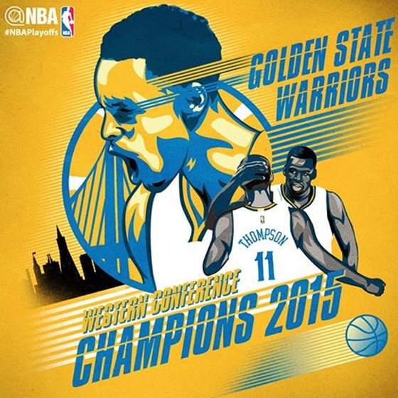 MVP Stephen Curry, Golden State Warriors beat Rockets to make their first NBA finals since 1975 ...