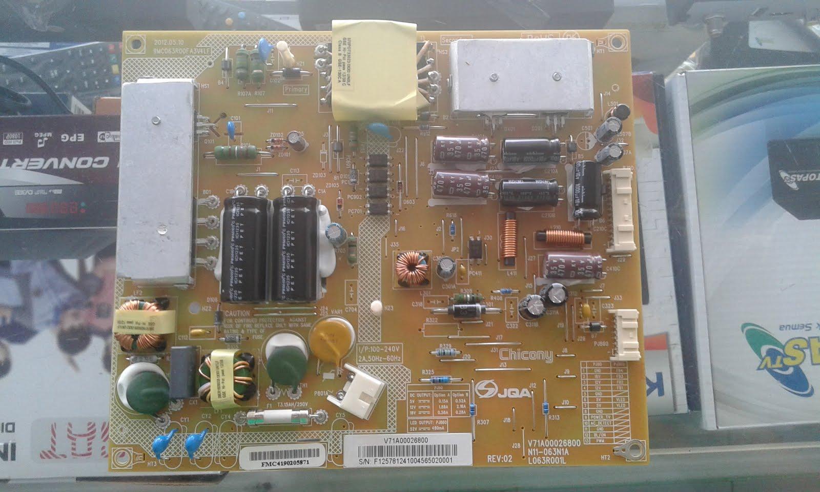 MOTHERBOAR & PSU TELEVISI LED/LCD