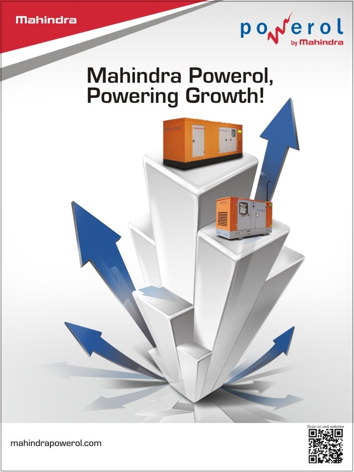 Get Empowered with Mahindra Powerol Diesel Generators