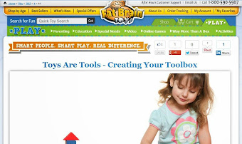 Guest Post at PLAY - a new blog by Fat Brain Toys