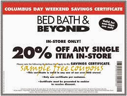 bed bath and beyond coupons june 2014. Black Bedroom Furniture Sets. Home Design Ideas