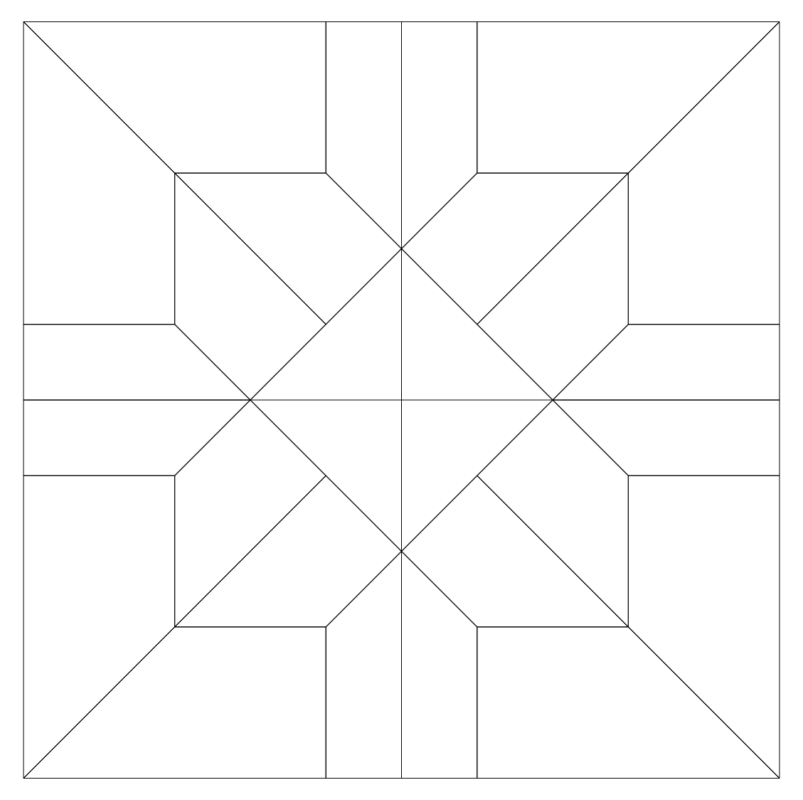 Imaginesque quilt block pattern 24 for Quilting templates free