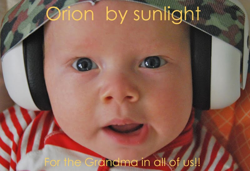 Orion by Sunlight