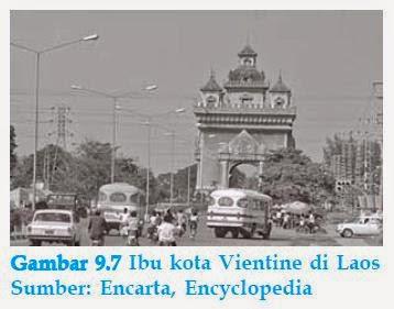 ibu kota vientine di laos