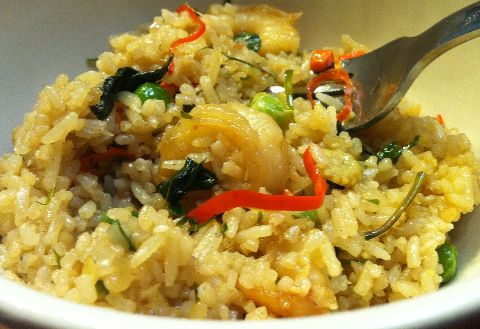 Whats good at trader joes trader joes spicy thai shrimp fried rice on some levels the fried rice is a pretty straightforward fairly typical variety one might expect from the freezer section ccuart Images
