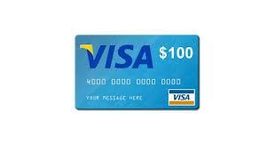 Visa $100