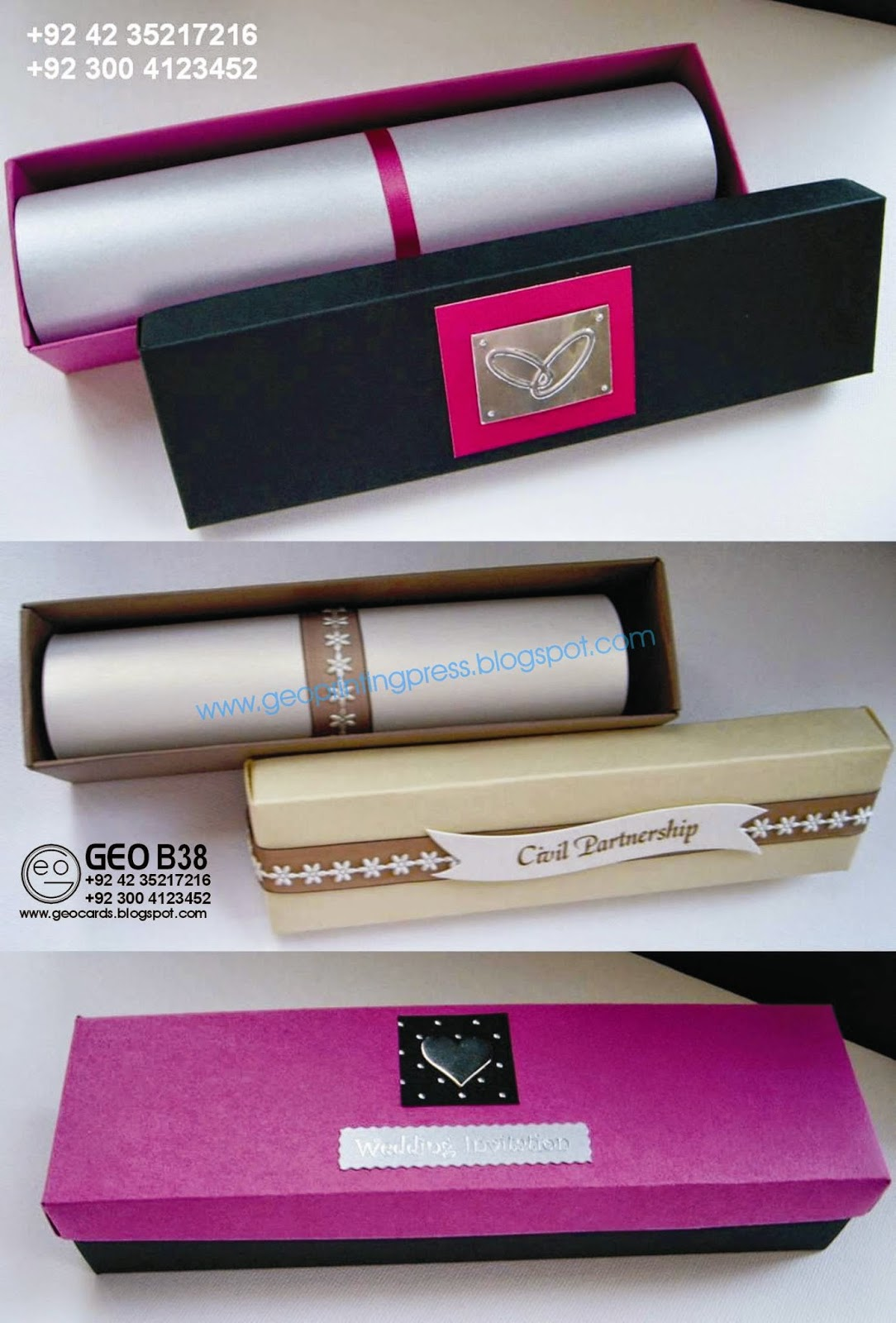 wedding card in lahore special box style wedding cards With wedding cards box type