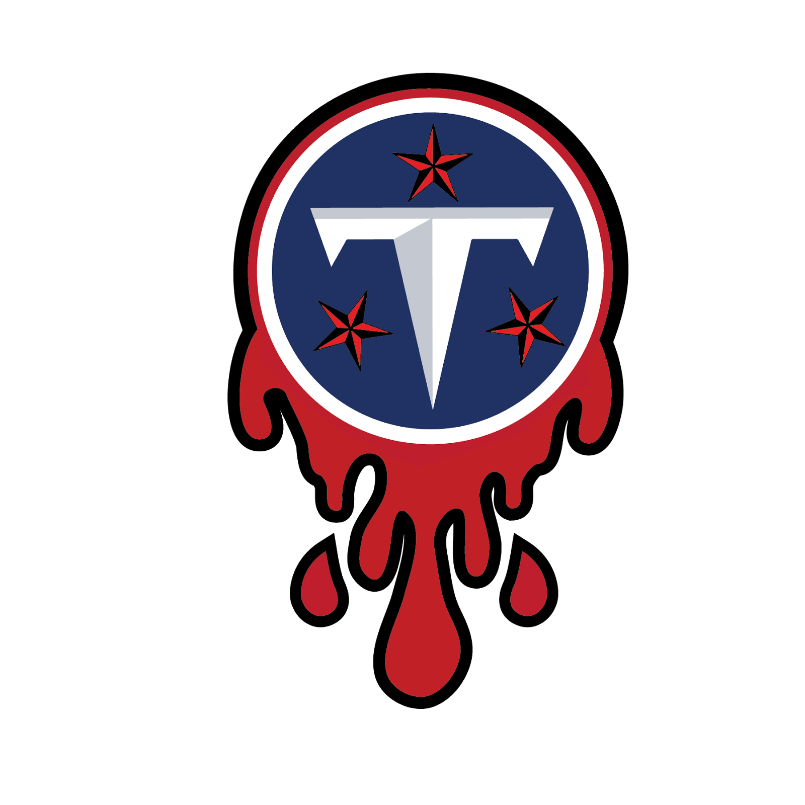 Tennessee Titans, metal, logo, re-imagined