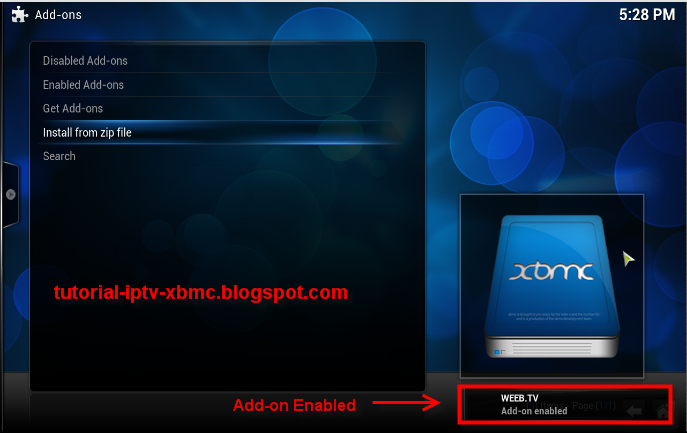 how to add chive tv to kodi