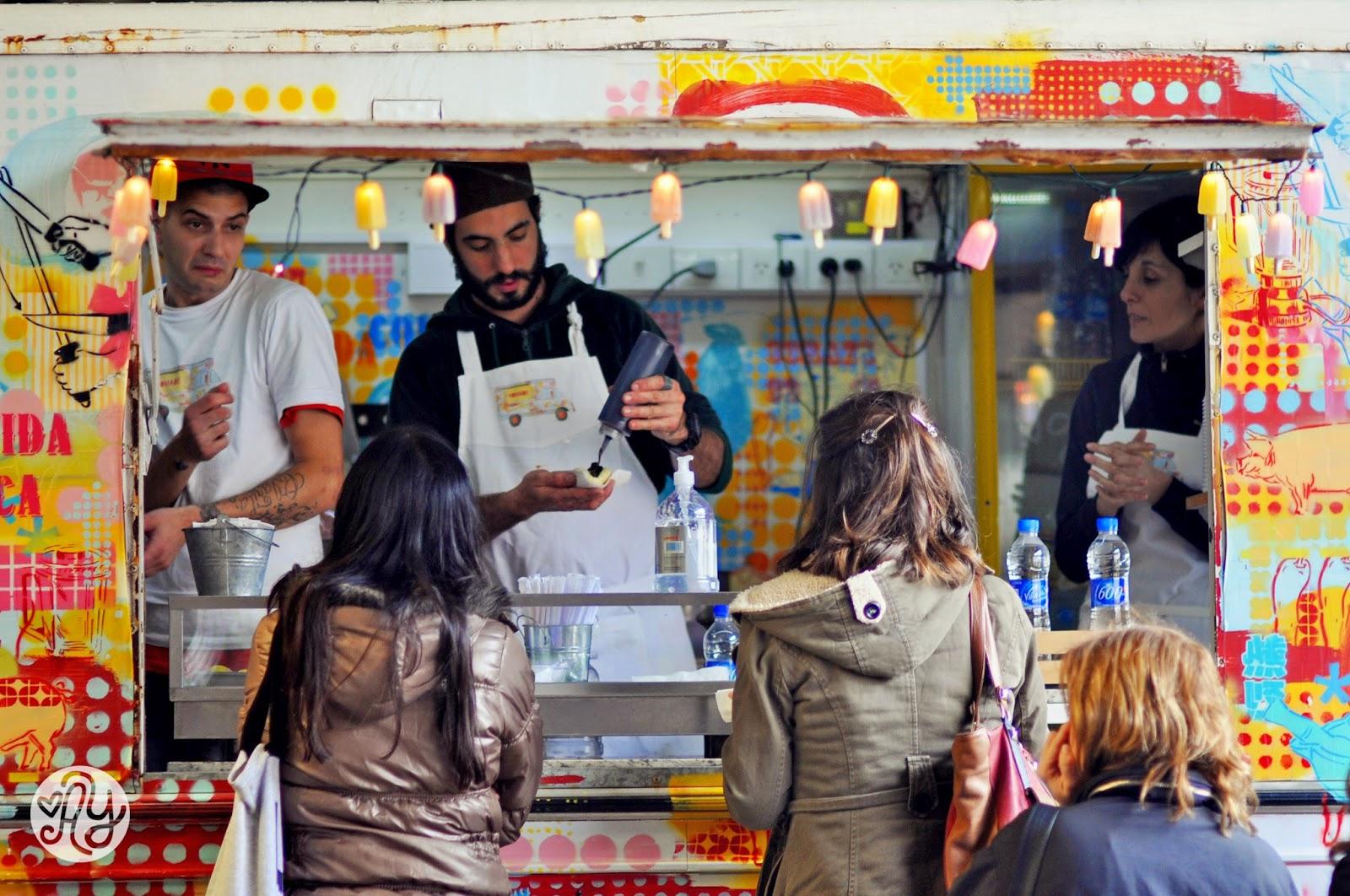Nomade Food Track en la feria de comida Buenos Aires Market