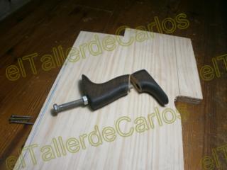 Eltallerdecarlos reparar mango de cepillo de carpintero - Cepillo de carpintero ...