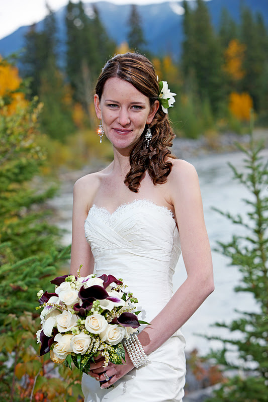 Leanna Scott Chose To Be Married At The Bear Bison Inn In Canmore
