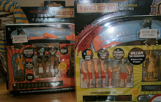 horrible histoires packaging toy sets