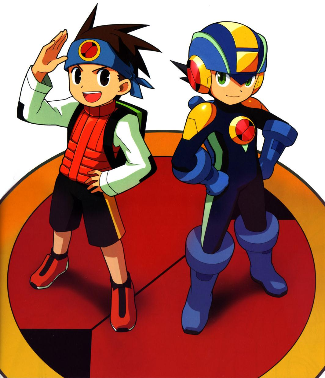 Mega man battle network gba levou o rob azul para o for Mobilia network