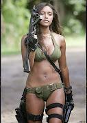 Chicas sexis militares chicas militares armas
