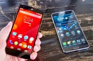 Galaxy Note 3 vs Nexus 5 apparently makes sense