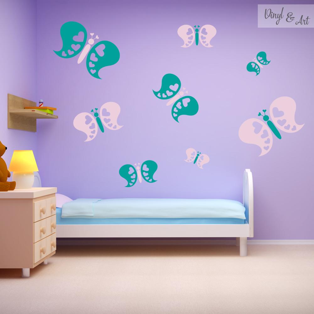 Vinilos adhesivos decorativos vinyl art para los for Adhesivos pared infantil