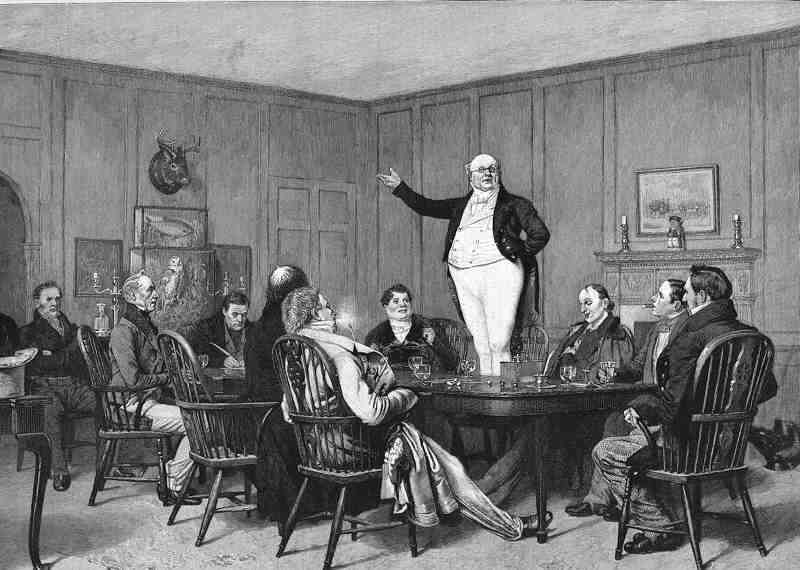 Summary of the pickwick papers