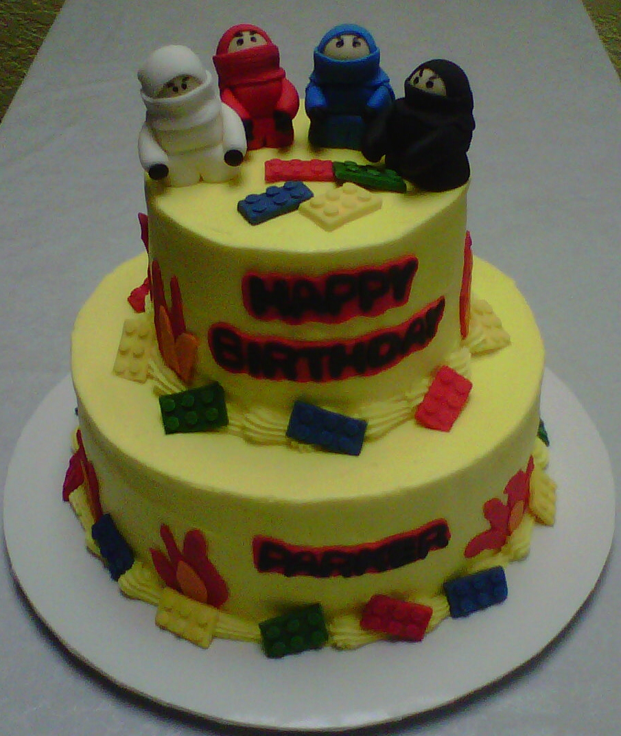 blancas cakery lego ninjago cake