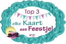 Challenge 121:  2de plaats in de top 3