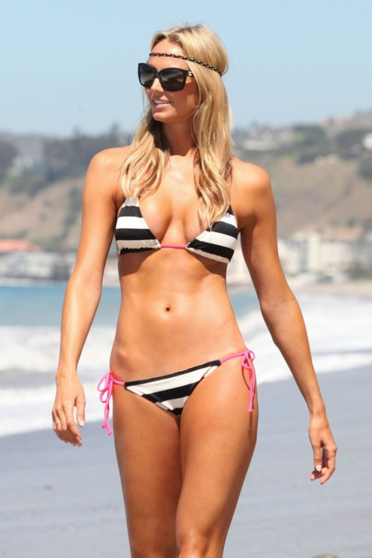 Stacy Keibler Bikini Photoshoot in Malibu