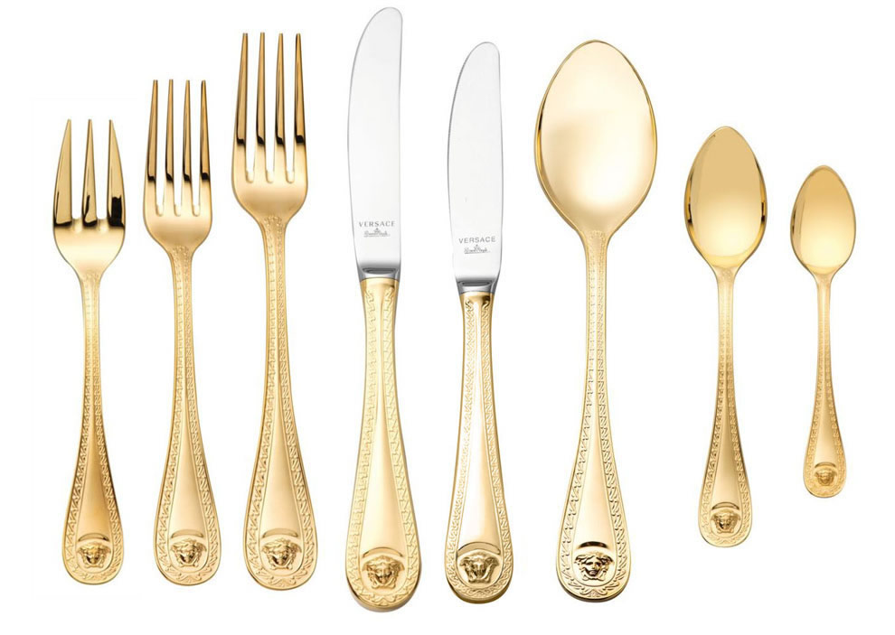 Love the Cutlery \u0026 Napkin - Simple and elegant which is great since the design on the china is so busy.  sc 1 st  bettys\u0026boys & bettys\u0026boys: Versace Tableware.