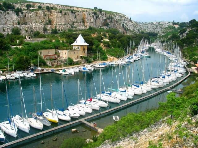 La Calanque de PORT-MIOU, Cassis, Marseille, France
