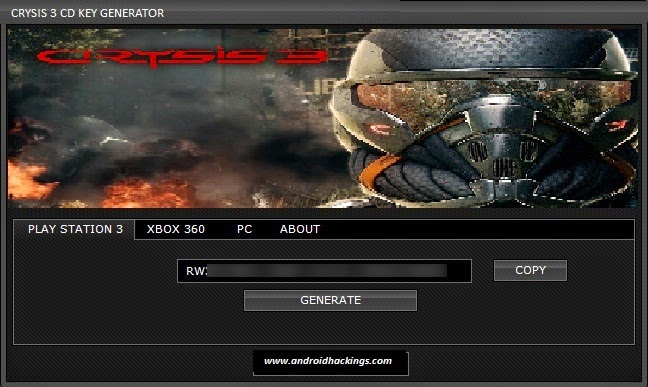 http://www.androidhackings.com/2014/10/crysis-3-keygen-activation-generator.html
