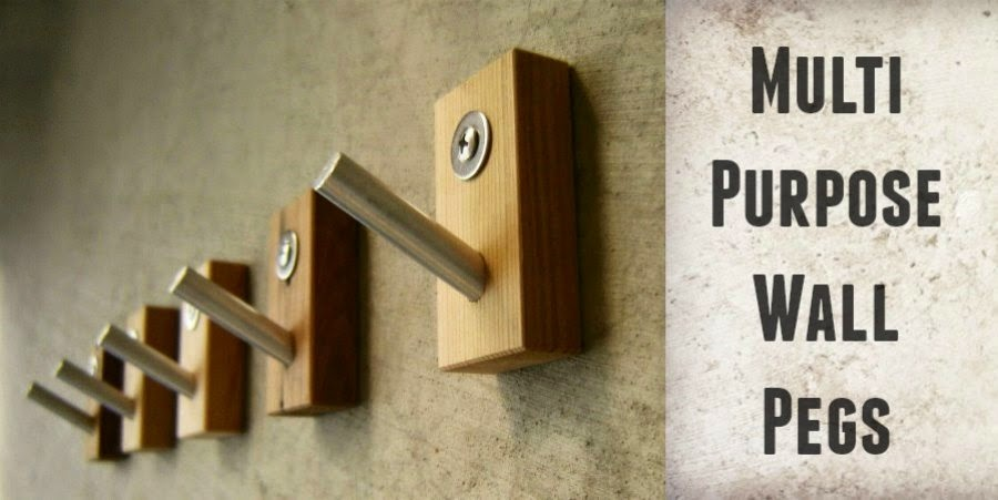 multi purpose wall pegs