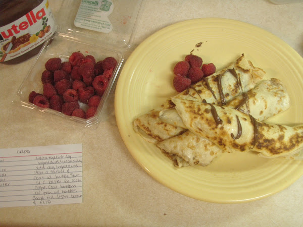 My Favorite Crepe Recipe