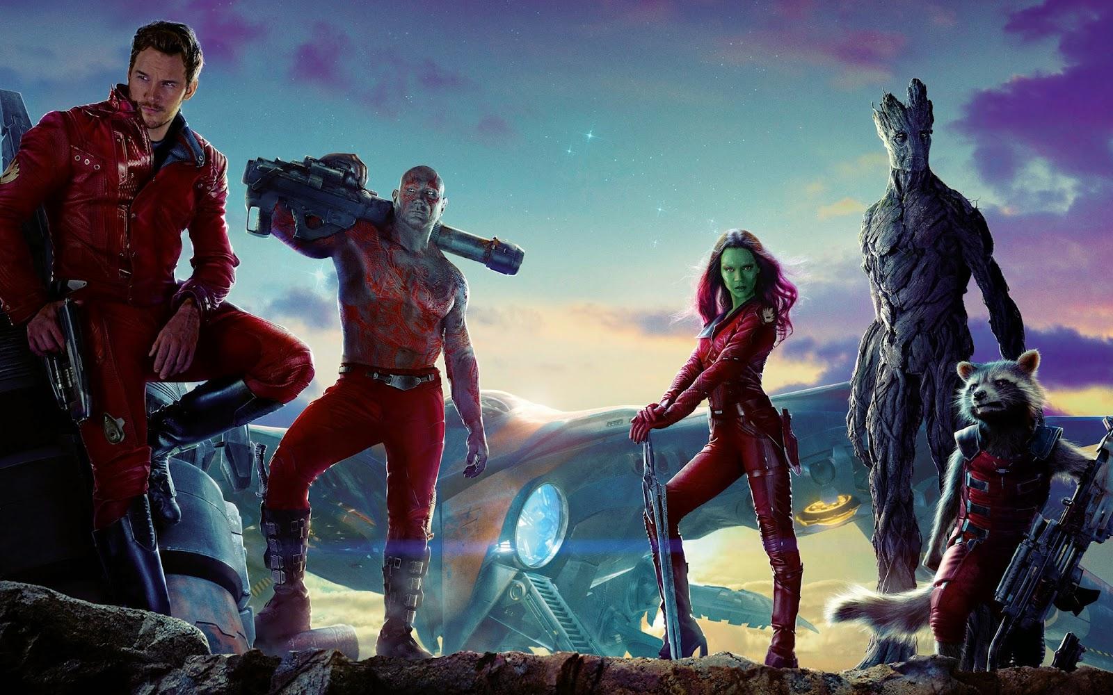 ดูหนัง Guardians of the Galaxy - รวมพันธุ์นักสู้พิทักษ์จักรวาล ชนโรง