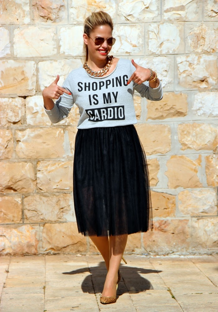 בלוג אופנה SHOPPING IS MY CARDIO - Vered'Style