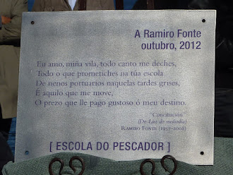Pontedeume, homenaxe a Ramiro Fonte