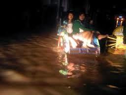 Ratusan Rumah Kebanjiran Di Kota Cirebon